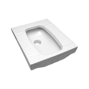 Serel WC Τούρκικου Τύπου με Παροχή Πίσω 60cm 0417