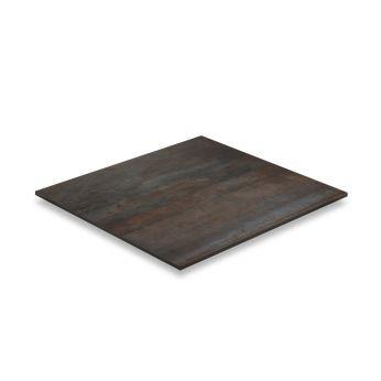 STN Ceramica Acier Iron Matte Πλακάκι από Γρανίτη Τύπου Μέταλλο 60x60cm