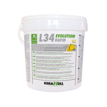 L34 Evolution Rapid (Α+Β) Κόλλα Παρκέ Ανοιχτό Χρώμα 10kg