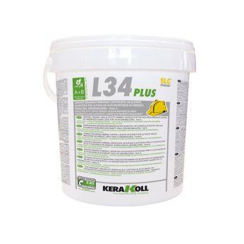L34 Plus (Α+Β) Κόλλα Παρκέ Σκούρο Χρώμα 10kg