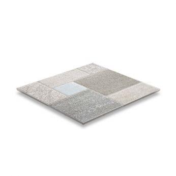 STN Rua Silver Matt Πλακάκι από Γρανίτη Cotto 45x45cm