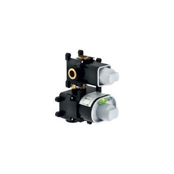 Nobili Εσωτερικός Μηχανισμός Θερμοστατικού Μίκτη Εντοιχισμού με Εκτροπέα 2 Εξόδων WE00102
