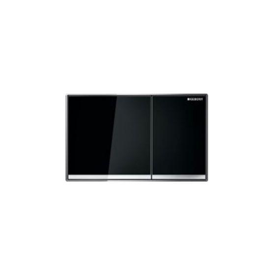 Geberit Sigma 60 Black Glass Πλακέτα Χειρισμού