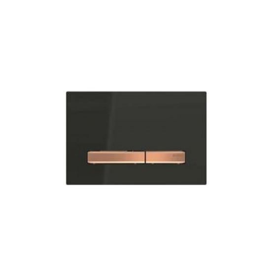 Geberit Sigma 50 Μαύρο / Κόκκινο Χρυσό Πλακέτα Χειρισμού