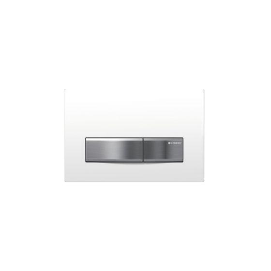 Geberit Sigma 50 White ABS / Aluminum Πλακέτα Χειρισμού
