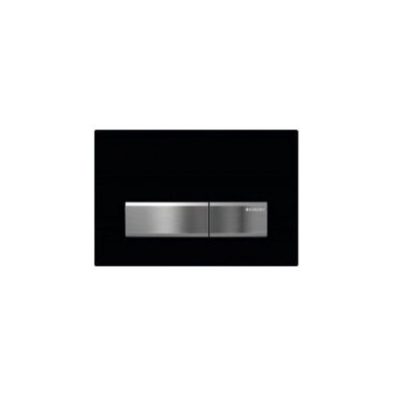 Geberit Sigma 50 Black ABS / Aluminum Πλακέτα Χειρισμού