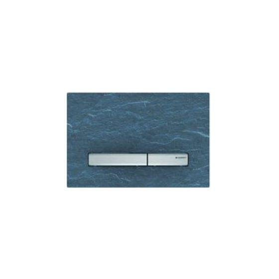 Geberit Sigma 50 Σχιστόλιθος mustang / Aluminum Πλακέτα Χειρισμού