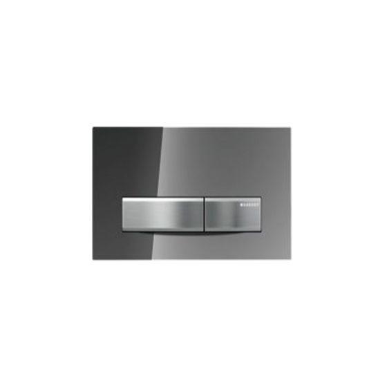 Geberit Sigma 50 Smoked Miror / Aluminum Πλακέτα Χειρισμού