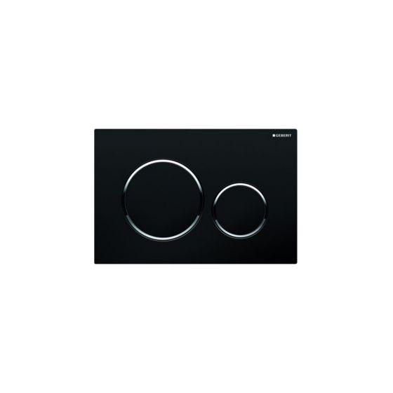 Geberit Sigma 20 Black / Chrome Πλακέτα Χειρισμού
