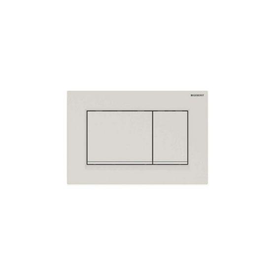 Geberit Sigma 30 Dual Flush White Matt Πλακέτα Χειρισμού