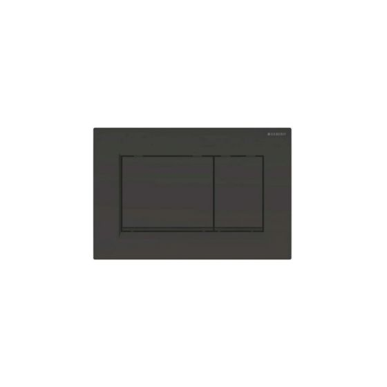 Geberit Sigma 30 Dual Flush Black / Black Matt Πλακέτα Χειρισμού