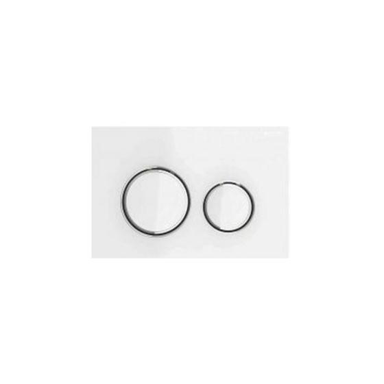 Geberit Sigma 21 White Glass Πλακέτα Χειρισμού