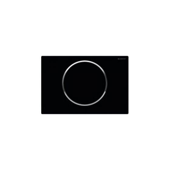 Geberit Sigma 10 Black Matt / Chrome Πλακέτα Χειρισμού
