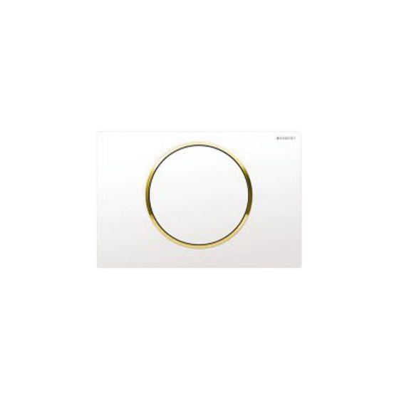 Geberit Sigma 10 White / Gold Πλακέτα Χειρισμού