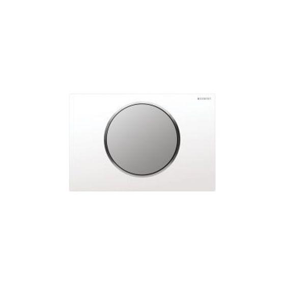 Geberit Sigma 10 White / Chrome Matt